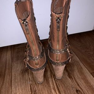Buckle Shoes - Boots